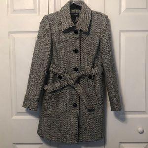 Liz Claiborne Hood trencher style coat